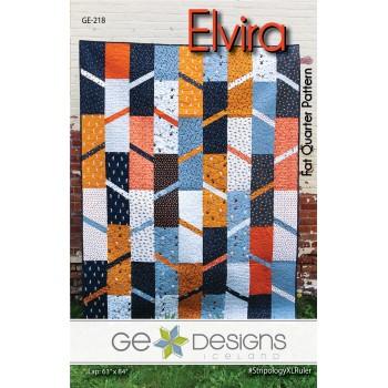 Elvira Pattern by GE Designs - Fat Quarter Friendly