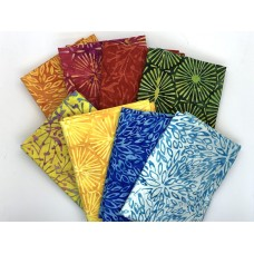 Batik Half Yard Bundle HY805 - Anthology - 4 Yards Total