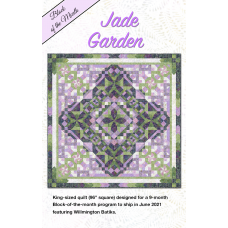 Jade Garden Kit PREORDER by Wilmington Batiks