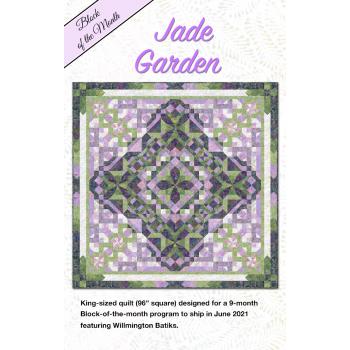 Jade Garden Kit PREORDER by Wilmington Batiks