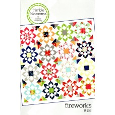 Fireworks pattern by Thimble Blossoms - Fat Quarter friendly