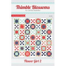 Flower Girl 2 pattern by Thimble Blossoms - Fat Quarter friendly
