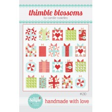Handmade with Love pattern by Thimble Blossoms - Fat Quarter friendly