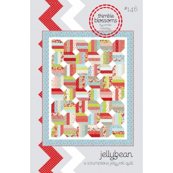 Jellybean pattern by Thimble Blossoms - Jelly Roll friendly