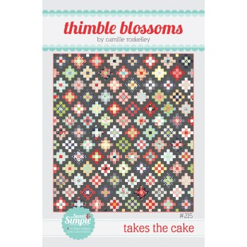 Takes the Cake pattern by Thimble Blossoms - Layer Cake friendly