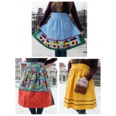 FREE Timeless Treasures Home Sweet Home Apron Trio Pattern