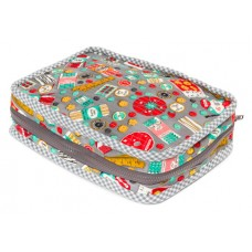FREE Robert Kaufman Carry Along Sewing Case Pattern