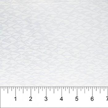 Banyan Batik 81204-10 White on White Diamonds Print