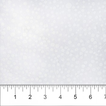 Banyan Batik 81205-10 White on White Dots Print
