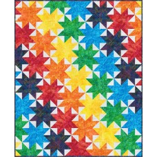 FREE Robert Kaufman Cascading Rainbow Pattern