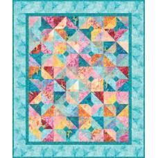 FREE Robert Kaufman Burst of Color Pattern