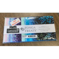 Tonga Batik Fantasy Charm Squares - 40 pieces