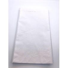 REMNANT - Banyan Batik 81203-10 White Circles on White - 14 INCHES