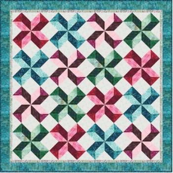 FREE Robert Kaufman Sakura Swirl Pattern