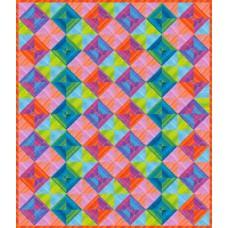 FREE Robert Kaufman Elementals Striped Squares Pattern