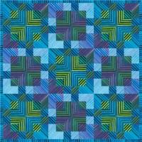 FREE Robert Kaufman Elementals Transparency Crossing Pattern