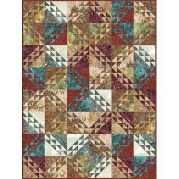 FREE Robert Kaufman Shattered Pattern