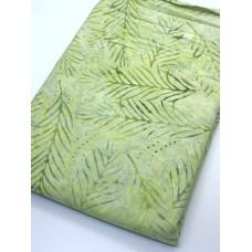 BOLT END - Wilmington Batavian Batik 22191-757 Green Fronds - 1.5 yd
