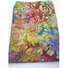 BOLT END - Michael Miller Batik BT8511 Candy - Multicolor Flowers - 3/4 yd