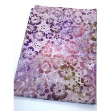 BOLT END - Robert Kaufman AMD-16857-238 Pink Flowers - 29 Inches