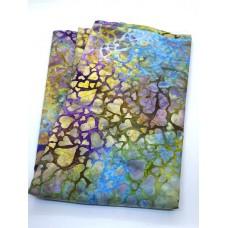 BOLT END - Island Batik 112011883 Hears on Multicolor - 33 Inches