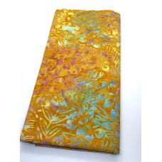 BOLT END - Majestic Batik Boardwalk 592 - Multicolor on Orange - 30 Inches