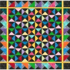 FREE Robert Kaufman Elementals Quarter Square Pattern