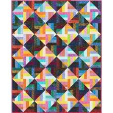 FREE Robert Kaufman Prisma - Strip Disco Pattern