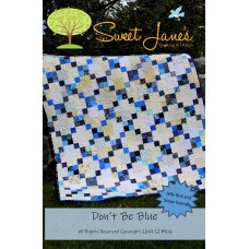 Don't Be Blue pattern by Sweet Jane's  - Jelly Roll Friendly