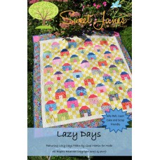 Lazy Days pattern by Sweet Jane's  - Jelly Roll, Layer Cake & Scrap Friendly