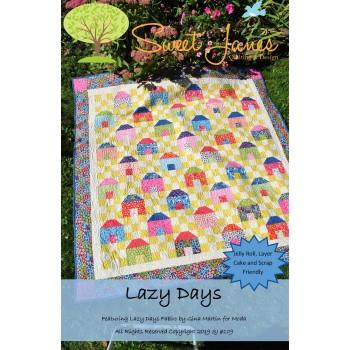 Lazy Days pattern by Sweet Jane's  - Jelly Roll, Layer Cake & Scrap Friendly