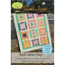 Red Letter Day pattern by Sweet Jane's - Layer Cake, Fat Eighth & Fat Quarter Friendly