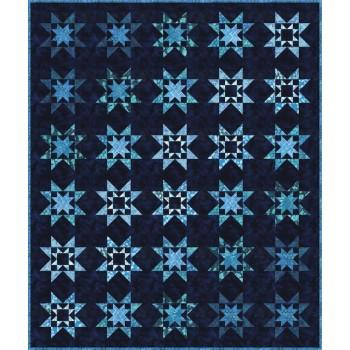 FREE Robert Kaufman Royal Stars Pattern