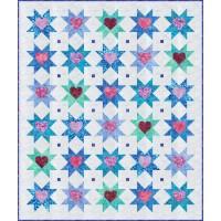 FREE Robert Kaufman Stars and Hearts Pattern