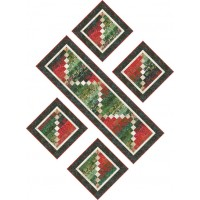 FREE Robert Kaufman Holiday Moments Runner and Placemats Pattern