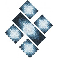 FREE Robert Kaufman Magical Winter Emanating Light Runner and Placemats Pattern