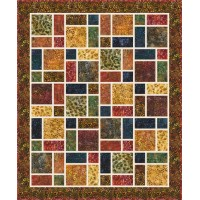 FREE Robert Kaufman Nature's Canvas Neighborhood Pattern