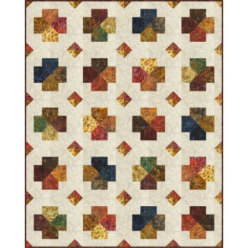 FREE Robert Kaufman Nature's Canvas Simple Stones Pattern