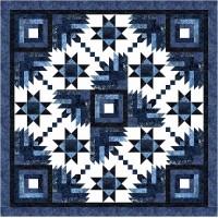 FREE Timeless Treasures Blue Moon Homespun Pattern