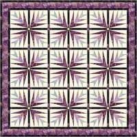 FREE Timeless Treasures Tonga Lupine - Lavish Lupines Pattern