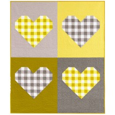 FREE Robert Kaufman I Heart Gingham Pattern