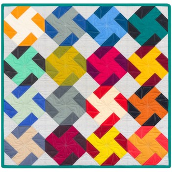 FREE Robert Kaufman Baby Bow Twist Pattern