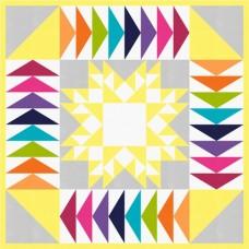 FREE Robert Kaufman Rainbow Courtyard Pattern