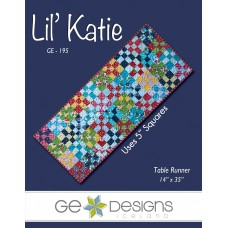 Lil' Katie Pattern by GE Designs - Charm Square Friendly