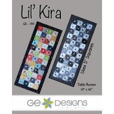 Lil' Kira Pattern by GE Designs - Charm Square Friendly
