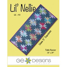 Lil' Nellie Pattern by GE Designs - Charm Square Friendly