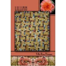 Lillian pattern card by Villa Rosa Designs - Jelly Roll Friendly Pattern