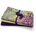 3 Yard Batik Bundle 3YD115 - Yellow Purple Turquoise
