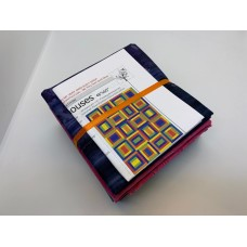 County Courthouses Quilt Kit  - Jewel Tones