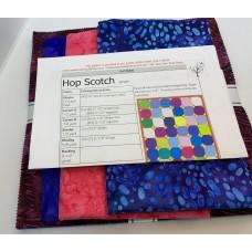 Hop Scotch Quilt Kit using Robert Kaufman Garden Style Squares
